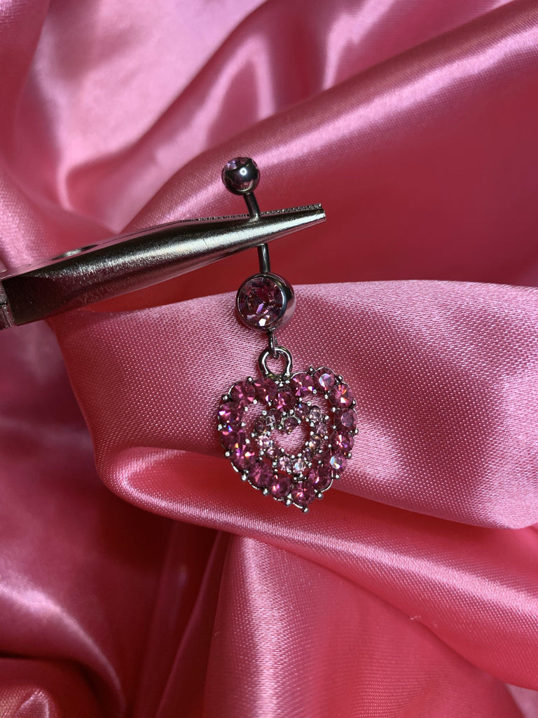 Jasleen Heart Belly Ring - ShopSheAte