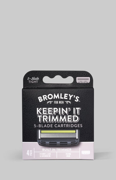 Bromley's for Men® 5-Blade Cartridges Refill