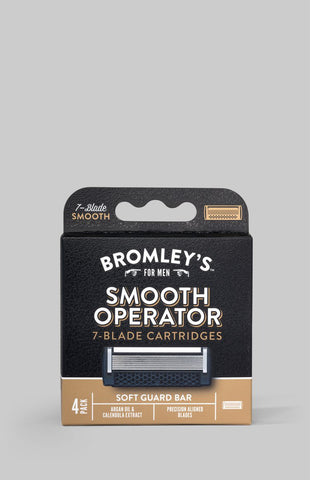 Bromley's for Men® Smooth Operator 7-Blade Cartridges Refill