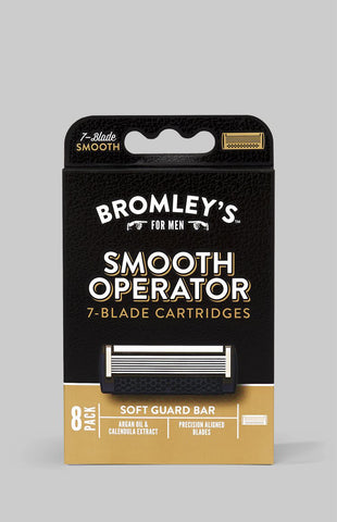 Bromley's for Men® Smooth Operator 7-Blade Razor Cartridges