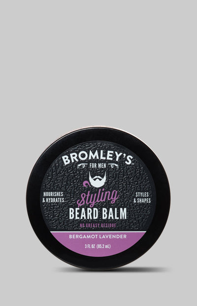 Bromley's For Men® Bergamot Lavender Styling Beard Balm