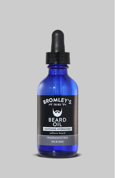 Bromley's for Men® Soothing Hydration Fragrance Free Beard Oil