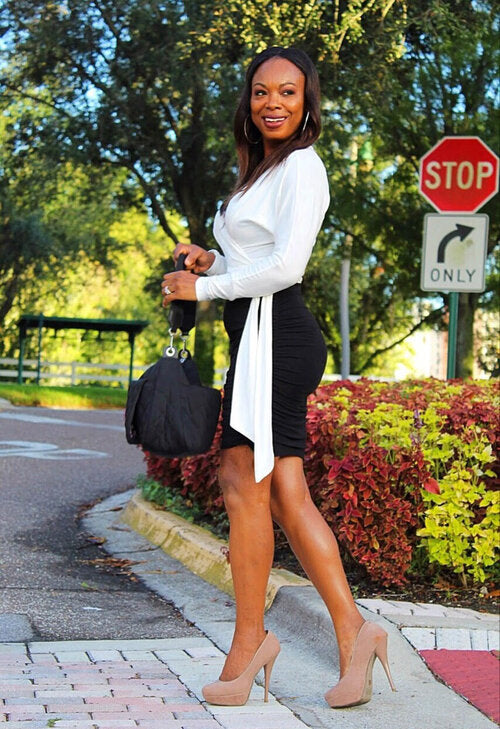 Happy Monday Midi Short Skirt
