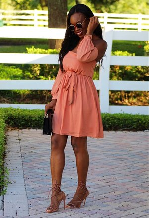 Sarafina Off -The Shoulder Dress