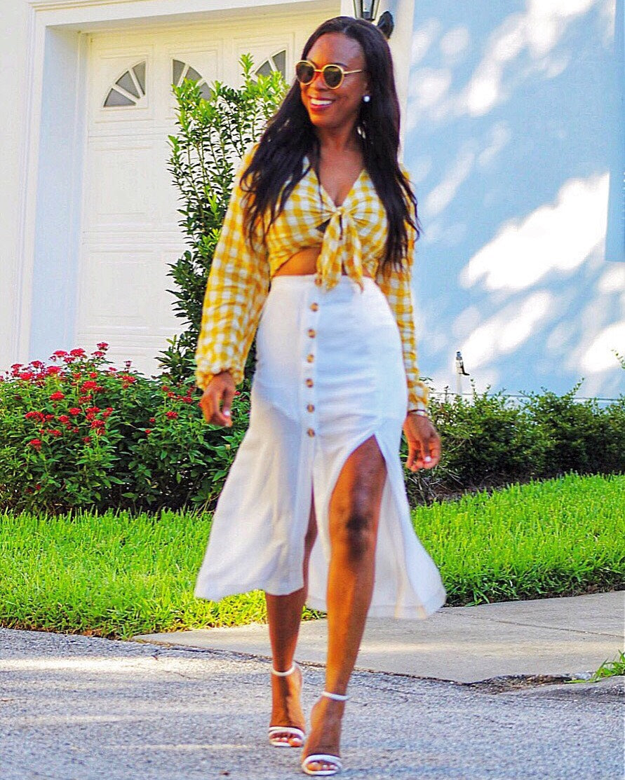 Cheers To Summer Midi Skirt