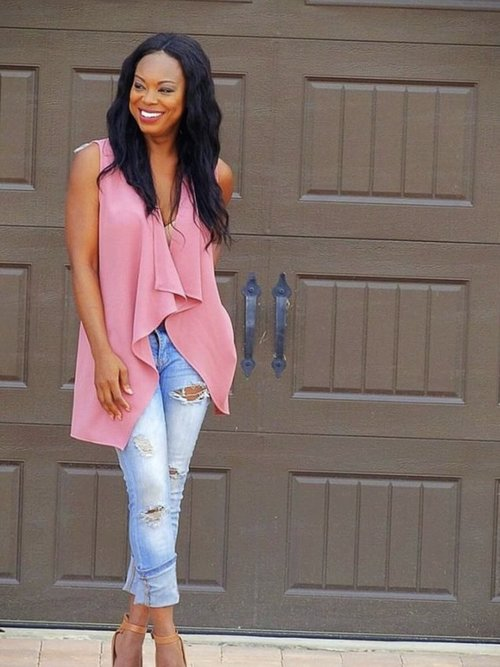 Babe In Blush Blazer