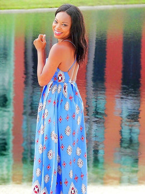 Island Girl Maxi Beach Dress