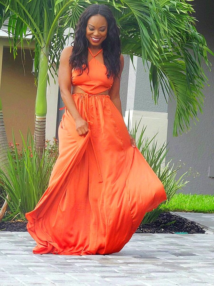 For The Summer Vacation Maxi Beach Dress