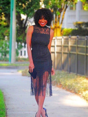 Nya Little Black Party Dress