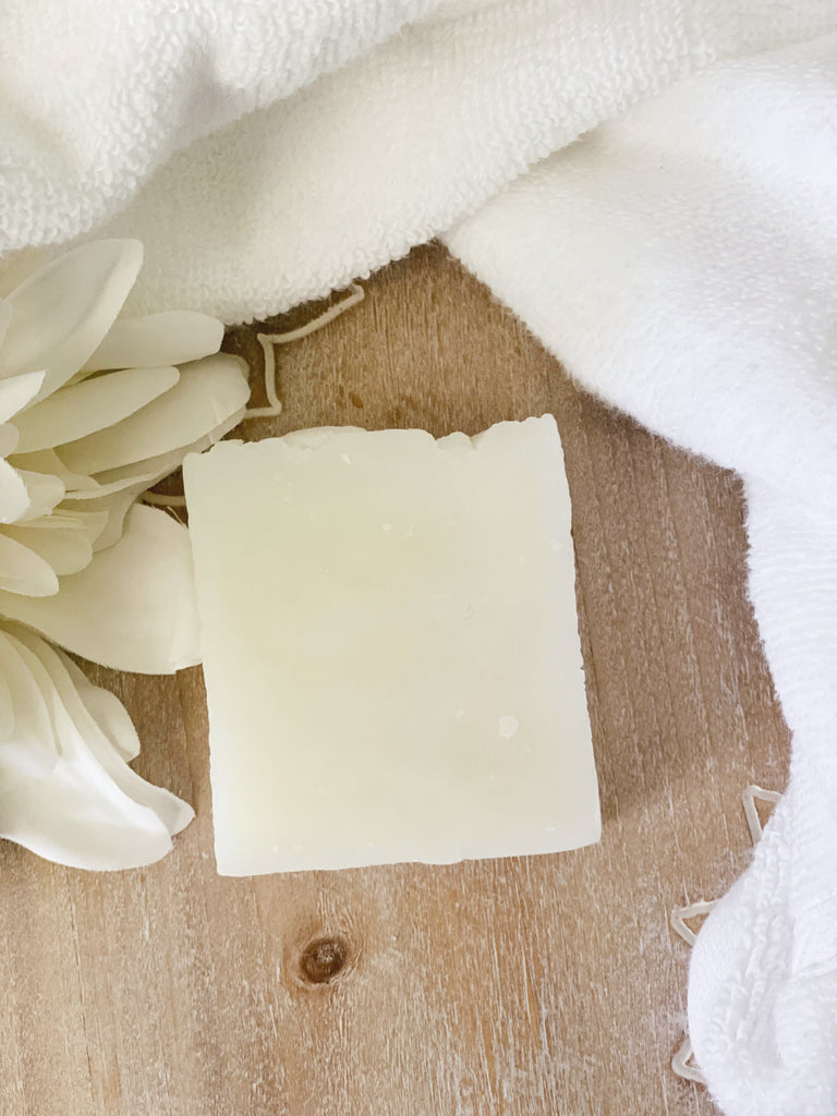 Coconut Oil Shampoo Bar | Lavender + Rosemary