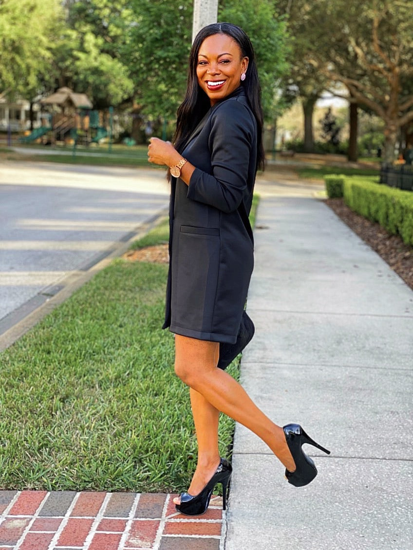 Oversized Long Sleeve Dress