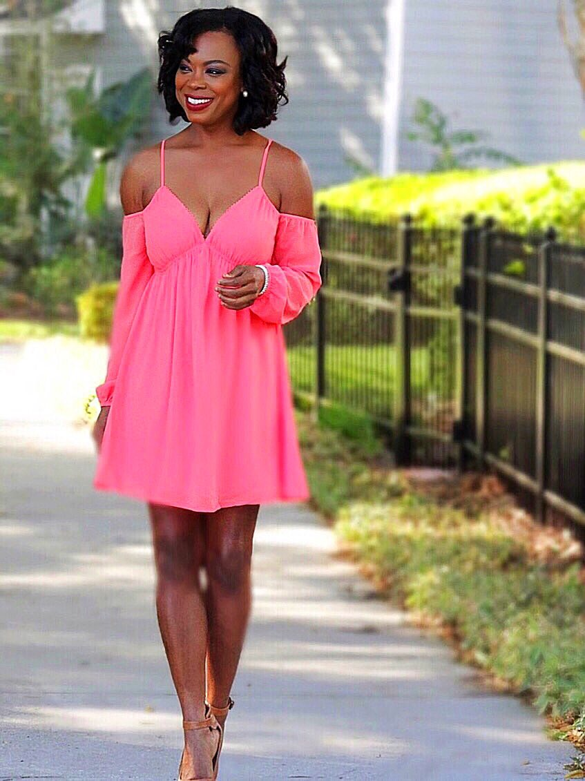 Babe In Blush Midi Dress