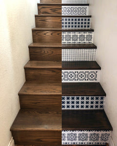 How to Paint Wood Stairs with Chalk Paint
