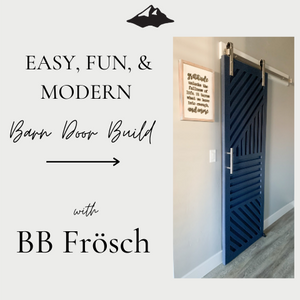 Modern Barn Door Build & BB Frösch In A Sprayer!