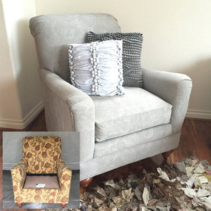 How to Chalk Paint Upholstery with a Sprayer