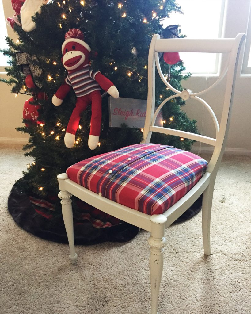 How to Make a Memory Chair from a Special Shirt