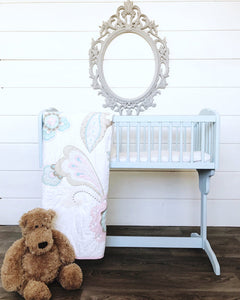 "Cradle Makeover with $2 ""Oops"" Paint"