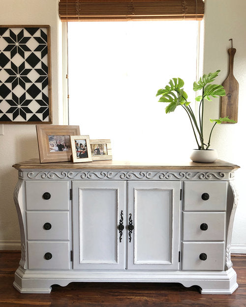 Kicked-to-the-Curb $5 Buffet Makeover