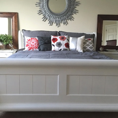 Master Bedroom Chalk Paint Makeover + Chalk Paint with a Sprayer