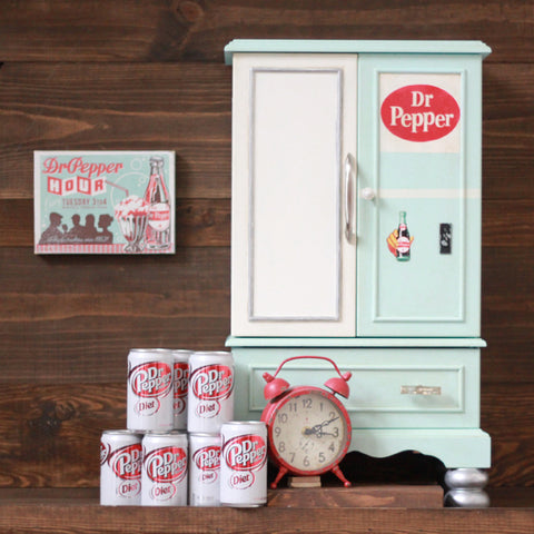 Dr Pepper Chalk Paint Jewelry Chest