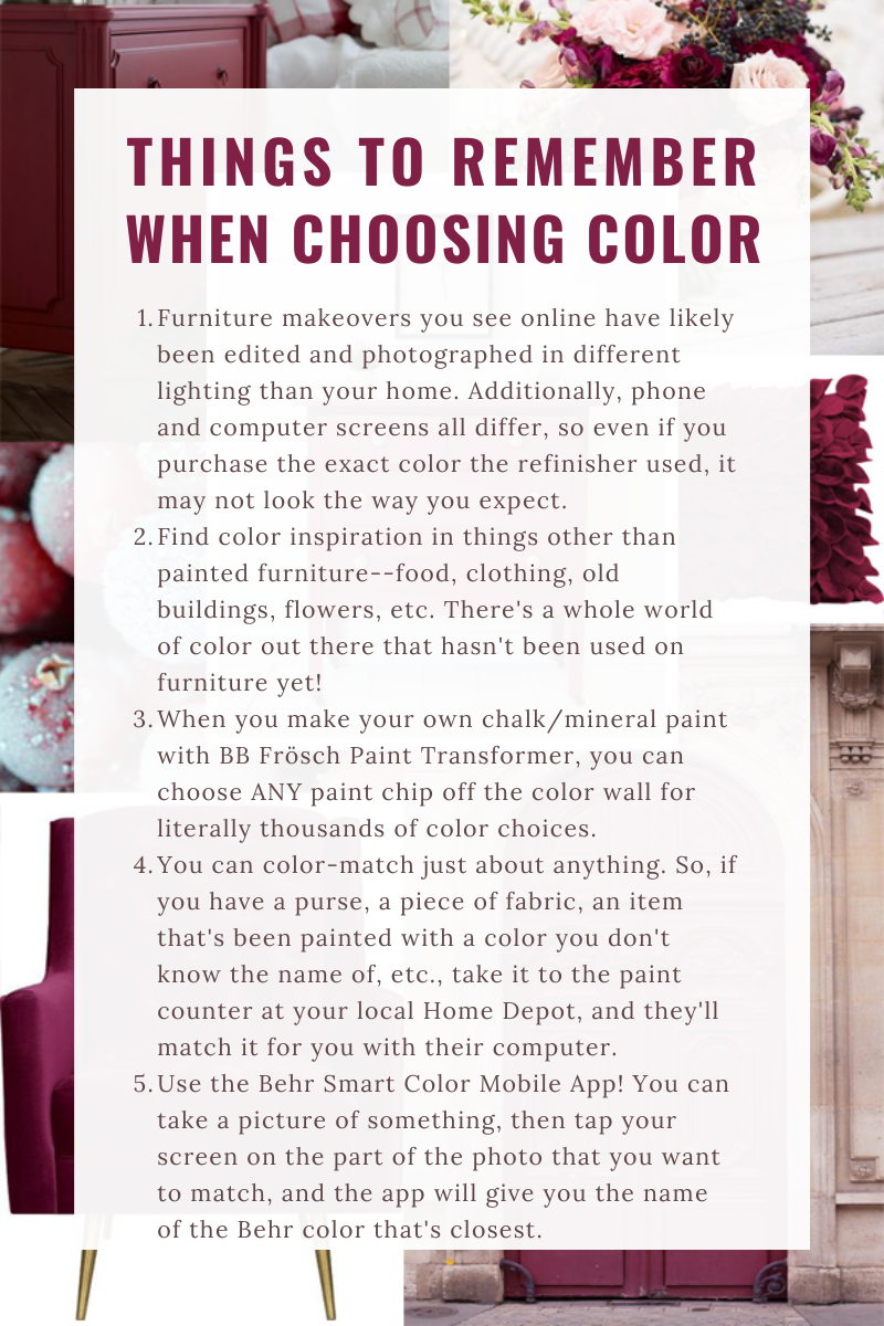 How to choose paint color