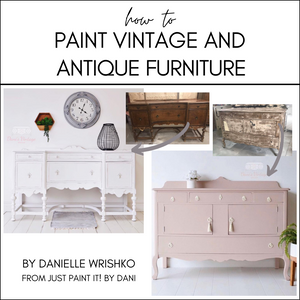 How to Paint Vintage and Antique Furniture