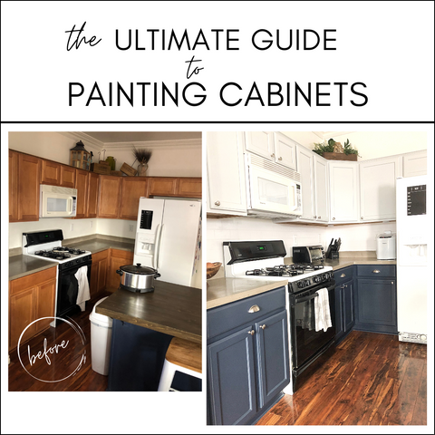 Ultimate Guide to Painting Cabinets
