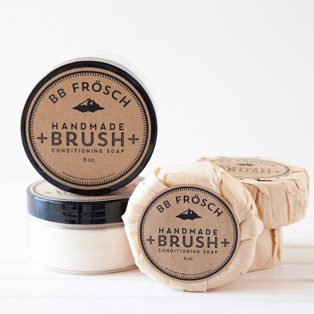 Handmade Brush Conditioning Soap
