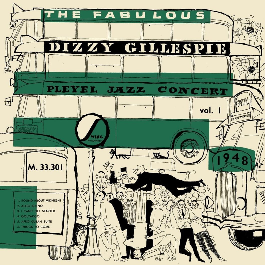 Dizzy Gillespie & Max Roach – The Fabulous Pleyel Jazz Concert 1948 Vol. 1
