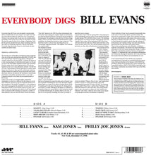 Load image into Gallery viewer, Bill Evans - Everybody Digs