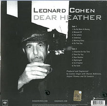 Load image into Gallery viewer, Leonard Cohen - Dear Heather