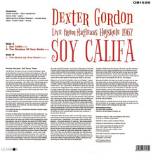 Load image into Gallery viewer, Dexter Gordon - Soy Califa (Live From Magleaas Højskole 1967)