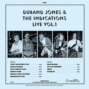 Durand Jones and The Indications - Live Vol.1