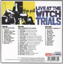 Load image into Gallery viewer, The Fall - Live At The Witch Trials 40th Anniversary