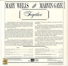 Load image into Gallery viewer, Marvin Gaye & Mary Wells - Together