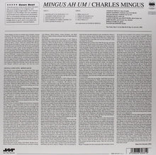 Load image into Gallery viewer, Charles Mingus - Mingus Ah Um