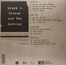 Load image into Gallery viewer, Micah P Hinson And The Nothing - 12 Songs From Santander