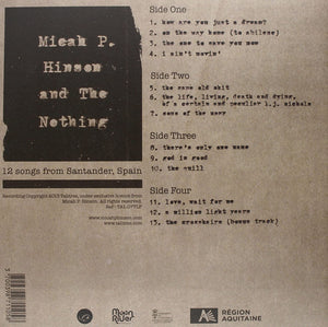 Micah P Hinson And The Nothing - 12 Songs From Santander