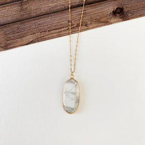 Baubles & Bits Boutique Collection :: Howlite Marquee