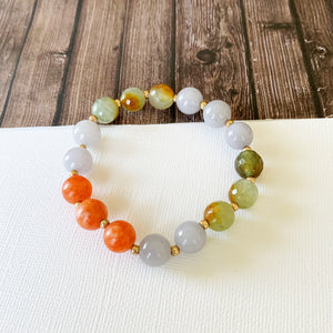 Boutique Bracelet Collection :: Felecia Natural Stone - Multi