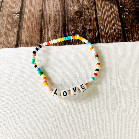 Beach Bracelet Collection :: Thea Love Multi-Hued Bracelet