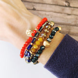 Boutique Bracelet Collection :: Florence Multi Color Trio