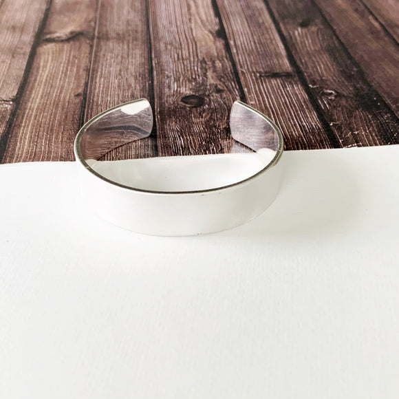 Boutique Bracelet Collection :: Bailee Brushed Silver Cuff Bracelet