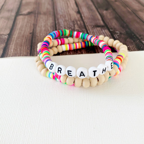 Boutique Bracelet Collection :: Breathe Multi-Hued Stack