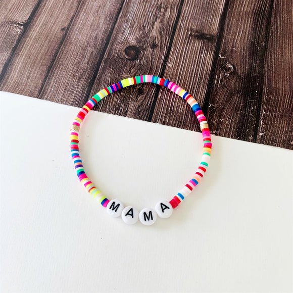 Beach Bracelet Collection :: Lyra Mama Multi-Hued Bracelet