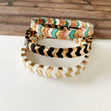 Boutique Bracelet Collection :: Ashley Black Chevron