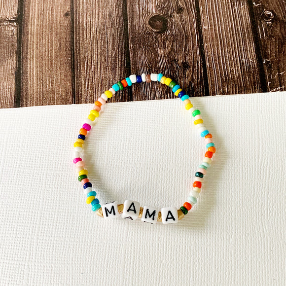 Beach Bracelet Collection :: Thea Mama Multi-Hued Bracelet