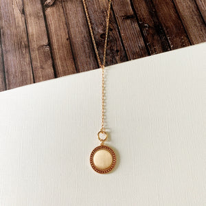 Baubles & Bits Boutique :: Sloan Y- Chain Coin Necklace - Gold