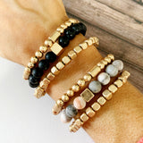 Boutique Bracelet Collection :: Madison Onyx Beaded Bracelet Trio