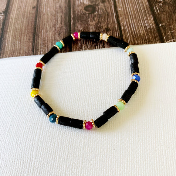 Beach Bracelet Collection :: Paola Black